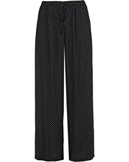 Women's Clothing New Ladies Plus Size Palazzo Trousers Baggy Flared Womens Wide Leg Paints 12-30 Fixing Prices According To Quality Of Products