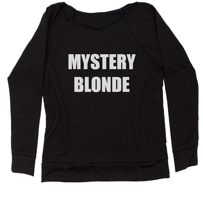 FerociTees Mystery Blonde Off Shoulder Sweatshirt