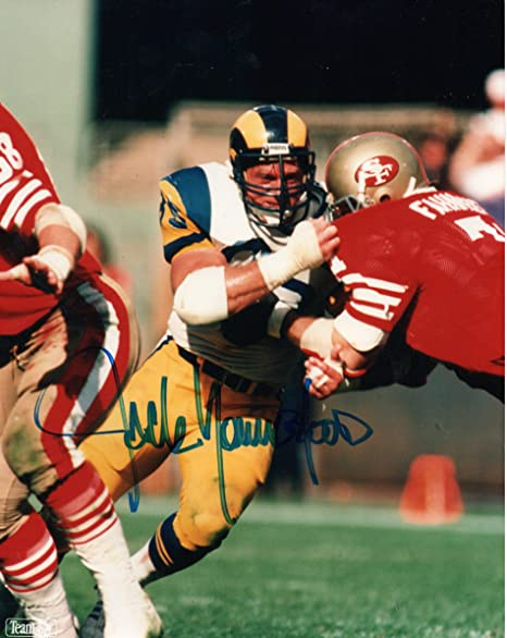 Jack Youngblood Autographed 8x10 Photograph Los Angeles Rams at ... e68657a2a