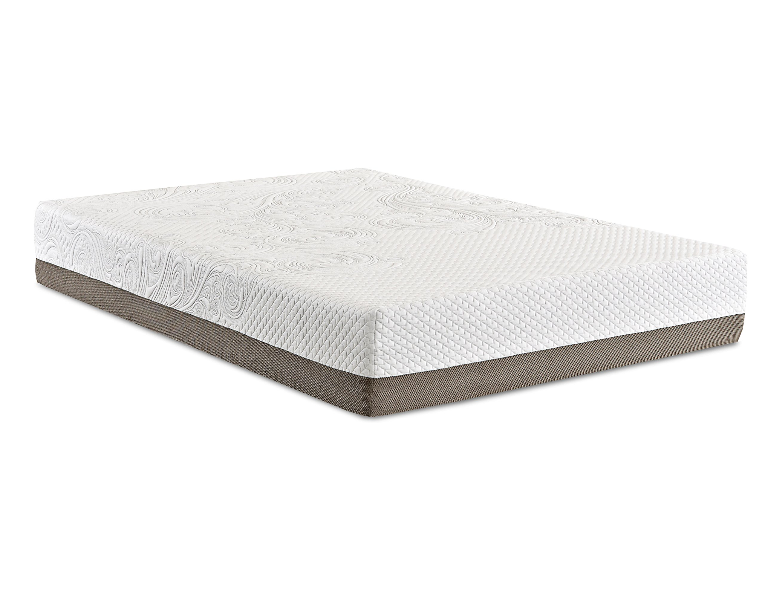 Klaussner Strata 12'' Puregel Mattress, Queen, White