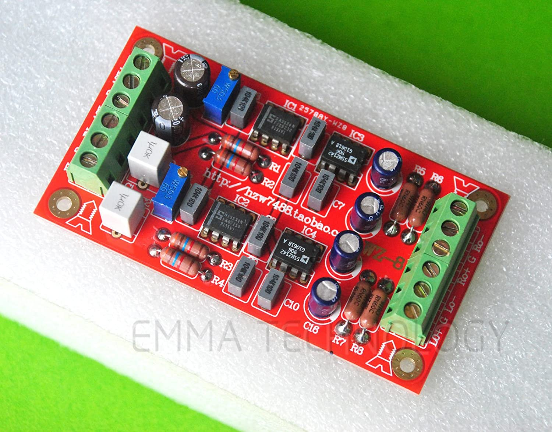 input Unbalanced Auido,output balaneced SSM2142 Unbalanced To Balanced Board