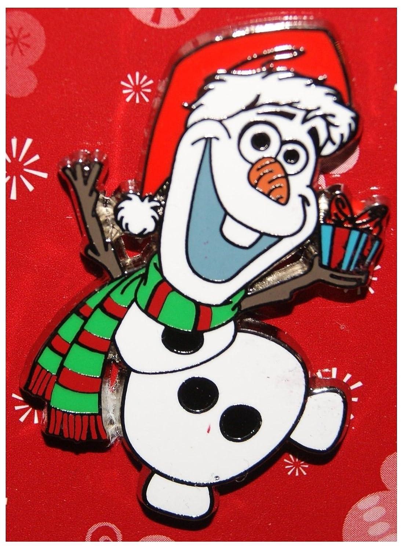 Amazon.com: Frozen Olaf Christmas Holiday Trading Pin - Disney Parks ...
