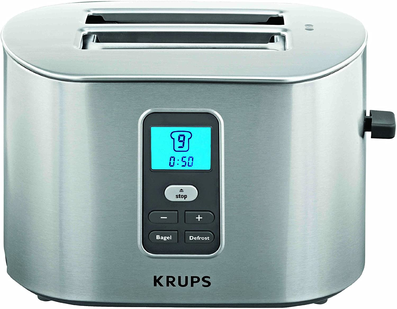 KRUPS TT6190 2-Slice Digital Toaster