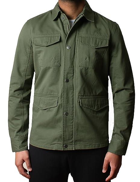 di Progettista sopra Militare Uomo Camicia Twill Hartford al Giacca xIwBa4z
