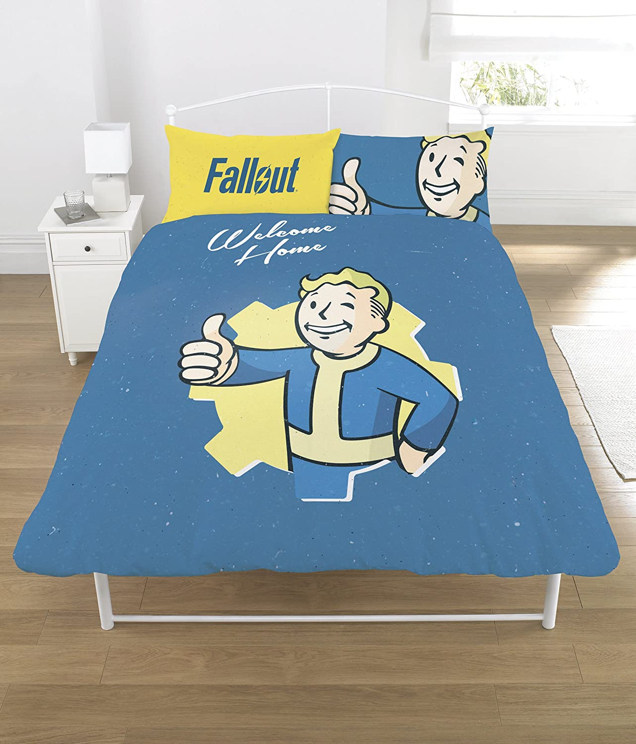 FALLOUT Duvet Set, Polycotton, Multi-Colour, Double Dreamtex Ltd DP1-FLT-VTB-08