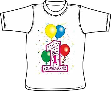 Camiseta Niño Niña spiritosa - Il Mio Primo cumpleaños ...