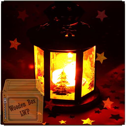 Glowing Red Lantern Live Wallpaper -