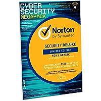 Norton Security Deluxe 2019 | limitierte CyberSecurity Edition | Schutz für 5 Geräte inkl. Secure VPN | PC/ MAC/ Android Download | FFP
