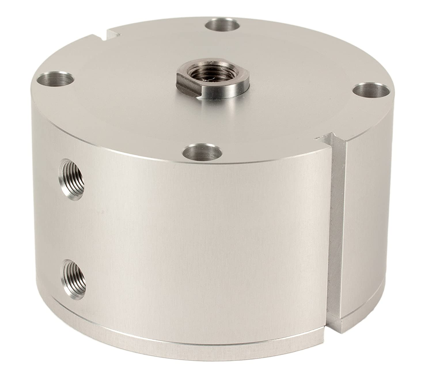 Fabco-Air C-521-X-E Original Pancake Cylinder, Double Acting, Maximum Pressure of 250 PSI, Switch Ready with Magnet, 2-1/2' Bore Diameter x 1' Stroke 2-1/2 Bore Diameter x 1 Stroke FAB   C-521-X-E