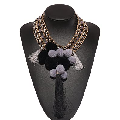 Holylove 2 Colors New Trend Stylish Bling Choker Necklace & Gold or Silver Chain with Gift Box 11SQp