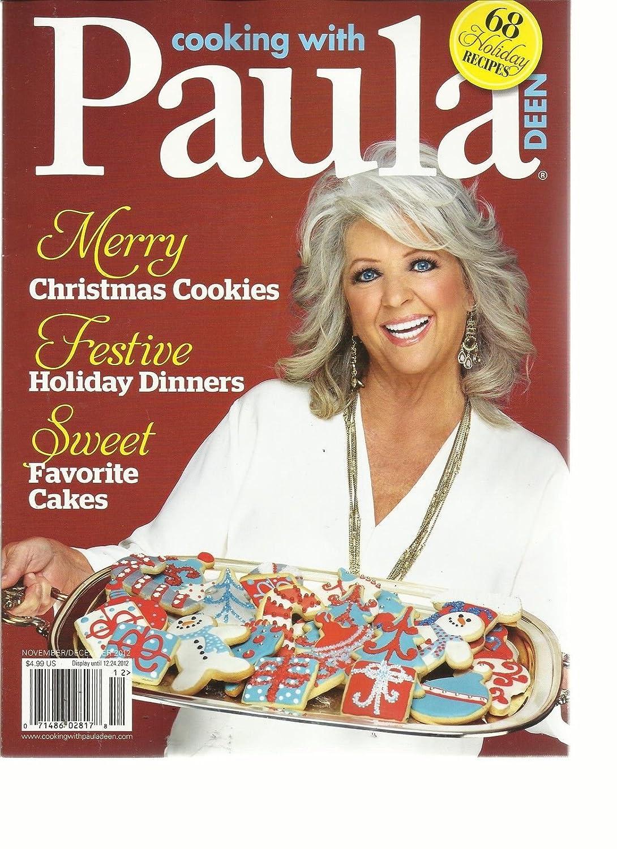 Amazon Com Cooking With Paula Paula Deen November December 2012