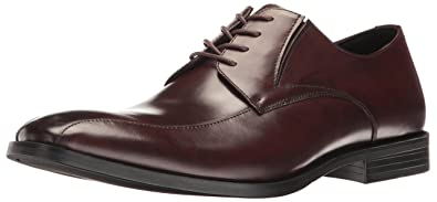 Kenneth Cole New York Men's Extra Ticket Oxford, Brown, ...