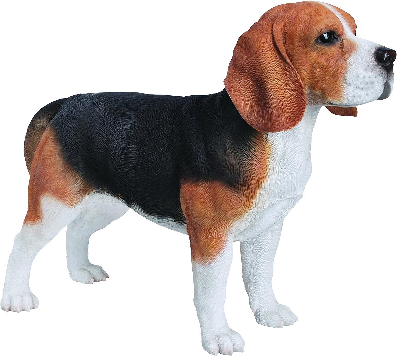 Kunstharz Gartendeko Vivid Arts XRL-BEAG-A Beagle Hund