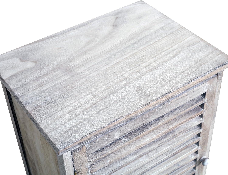 AxANxF Medidas: 59 x 41,5 x 32 cm - Art RE4343 scaffali per Camera soggiorno mensole da parete Cubo Rebecca Mobili Set 3 scaffali quadrati in Legno Chiaro Naturale