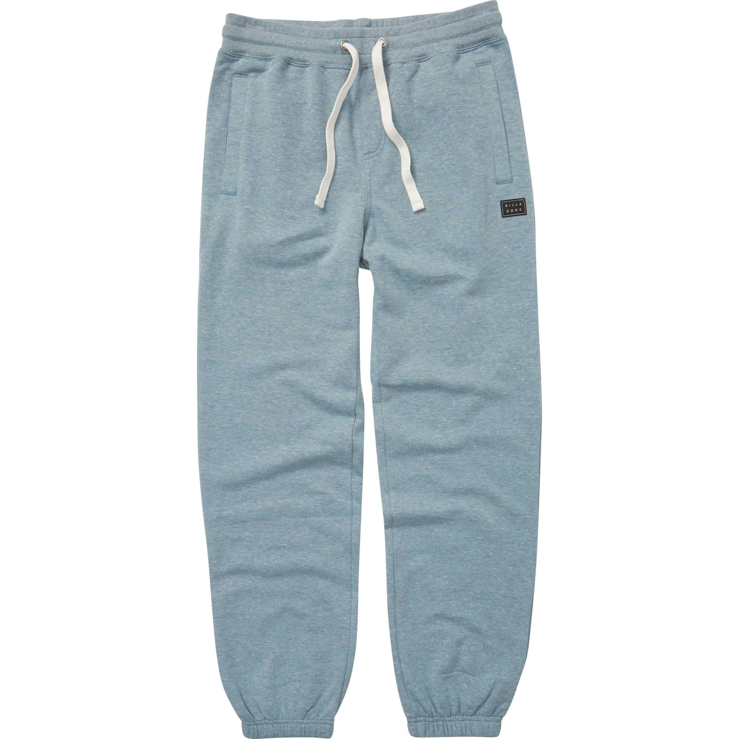 Billabong Boys' Big Day Pant Sweatpant, Washed Blue, M