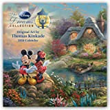 Thomas Kinkade: The Disney Dreams Collection - Sammlung der Disney-Träume 2018: Original BrownTrout-Kalender