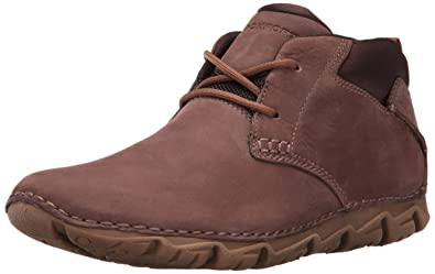 Rockport Men's RocSports Lite 2 Chukka Boot-Dark Brown Nubuck-10 M