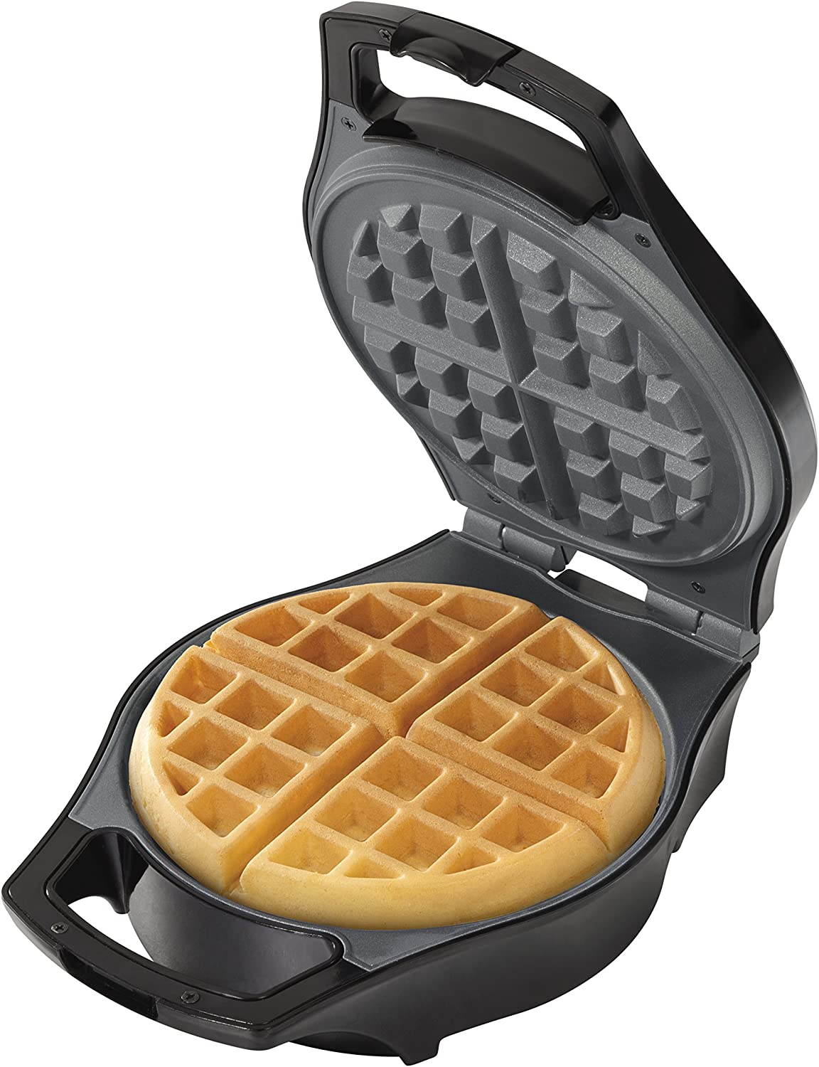 Hamilton Beach Belgian Waffle Maker, Mess Free with Adjustable Browning 26042