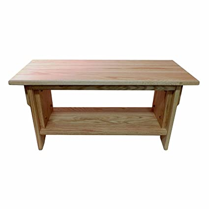 Attrayant Meditation Bench ~ 14u0026quot; Tall Personal Altar Table By EarthBench: RED  OAK (28u0026quot