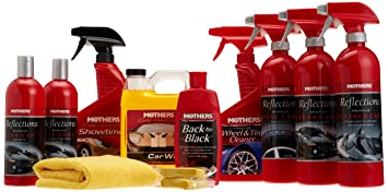 Mothers Car Care >> Mothers Hardcore Enthusiast Car Care Kit Cleaners