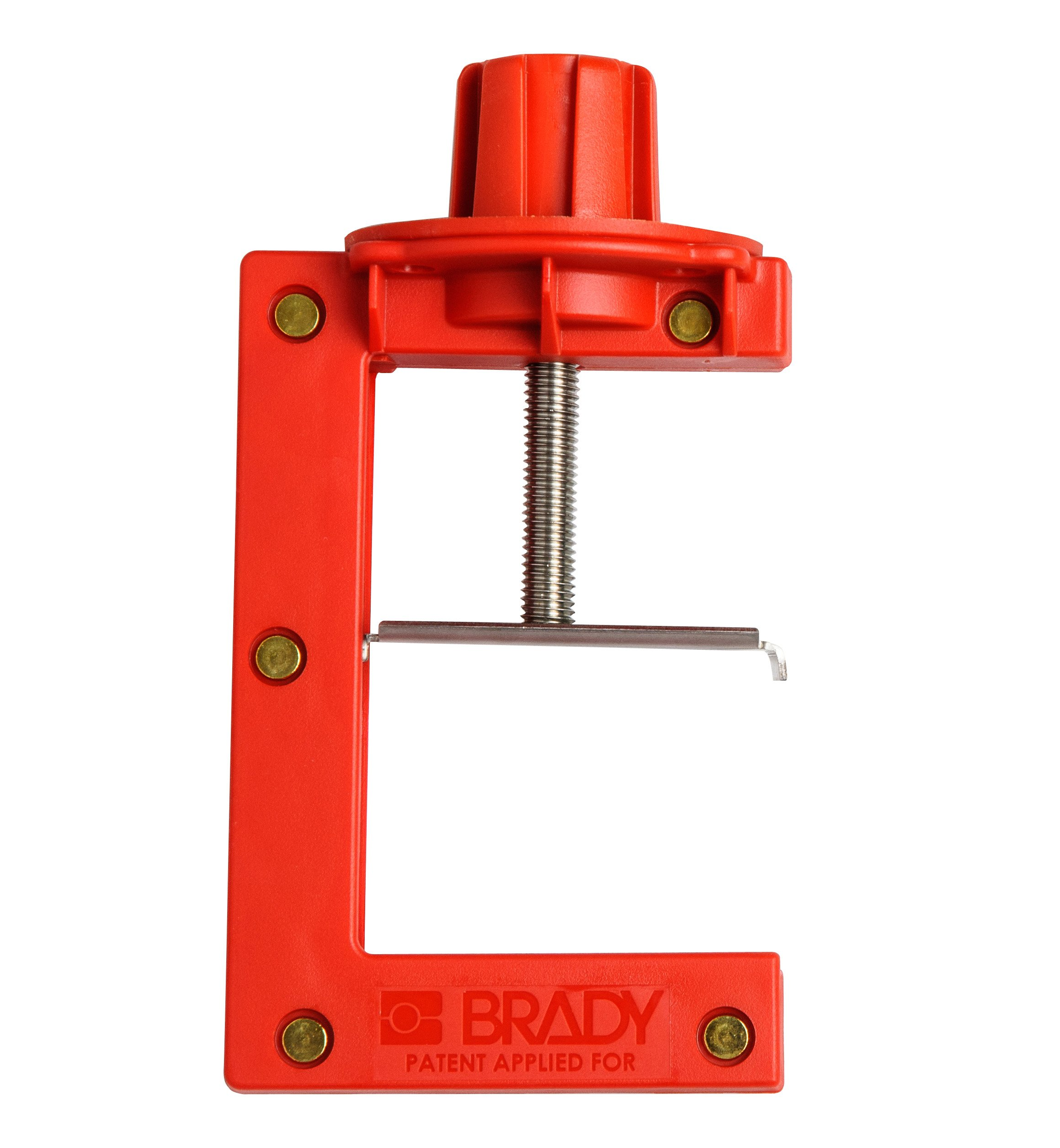 Brady 121505 Large Red, Butterfly Valve Lockout - Large (1 Each)