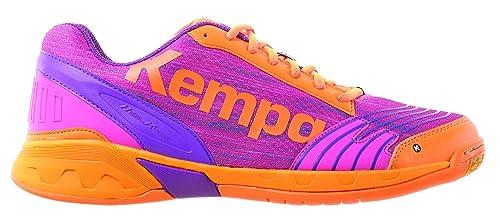 Kempa Attack Women, Zapatillas de Balonmano para Mujer, Rosa (Rose/carotte)