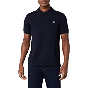 Fred Perry Ringer Camiseta Black: Amazon.es: Ropa y accesorios