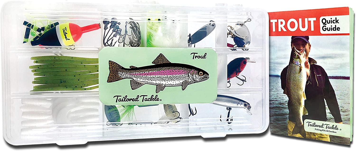 Tailored Tackle Trout Fishing Kit