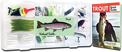 10x Fishing Lures Metal Spinner Crankbait Baits Bass Tackle Trout Spoon Box Set