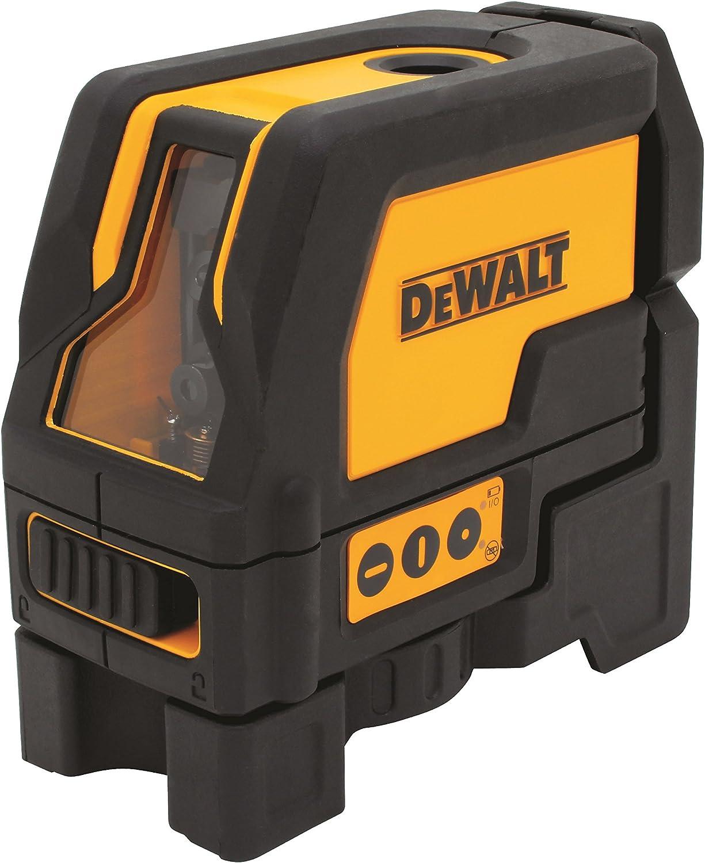 Dewalt DW0822 Self Leveling Cross Line and Plumb Spots Laser Level DW0822