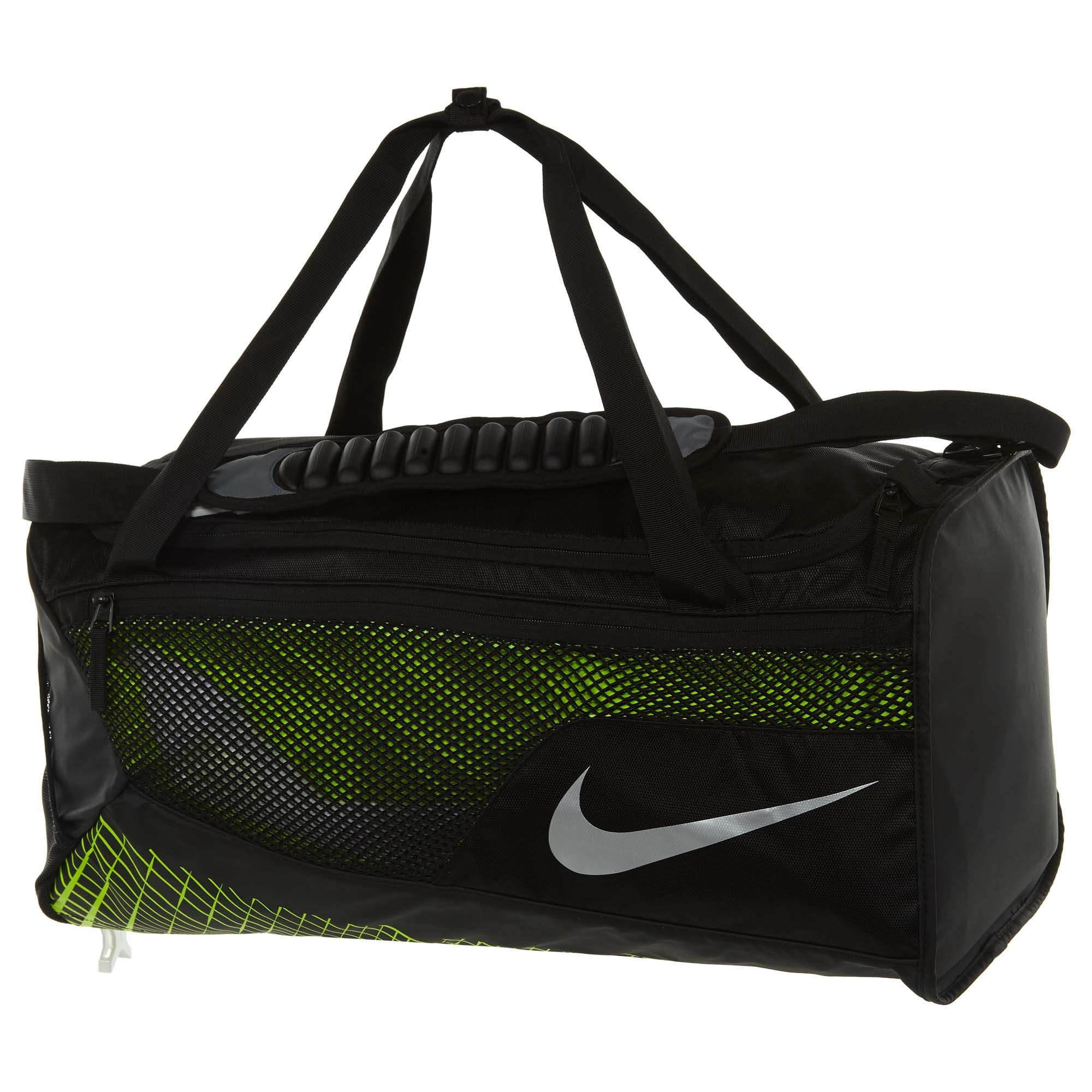 a828e0dfe2 Galleon - Nike Mens Vapor Max Air Medium Training Duffel Bag BA5475-010 -  Black Volt