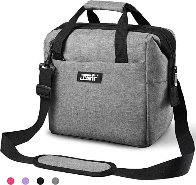 Amazon.com: Lunch Bag, Lunch Bag for Men Women Kids, Insulated Lunch Bag Leakproof Resuable Lunch Box Large Capacity Wide Open Lunch Bags with Adjustable Shoulder Strap for Office, School, Work, Picnic Hiking Beach: Kitchen & Dining