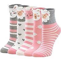 PUTUO Calcetines Divertidos Niña Calcetines de Animales, Calcetines Niñas Invierno Calcetines Térmicos Niña Calcetines…