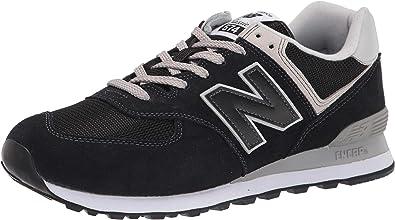 New Balance Unisex - Adulto 574v2 Core Scarpe da Ginnastica, Nero (Black), 36 EU
