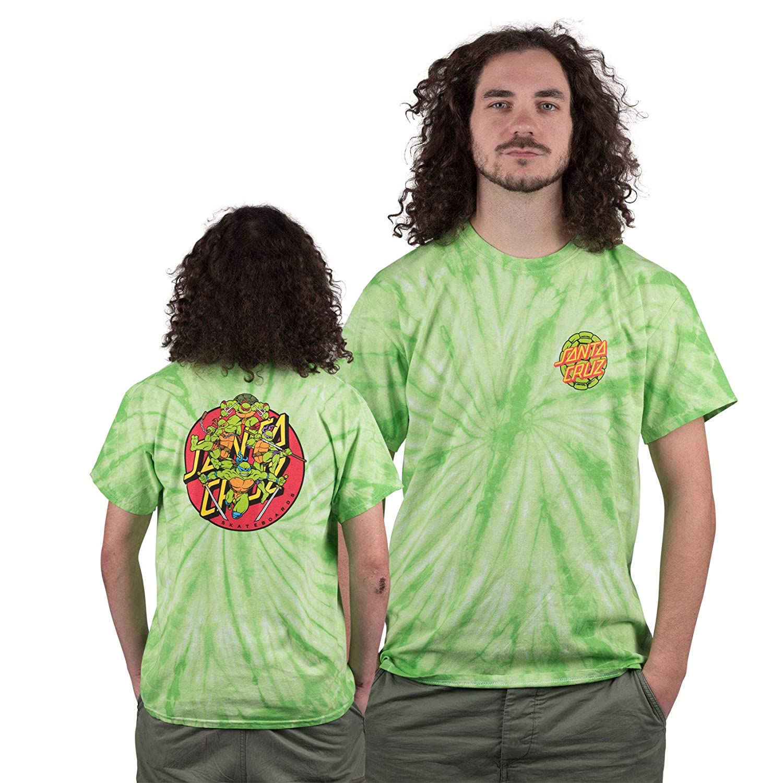 Santa Cruz - Camiseta de la Tortuga Ninja Mutant de la ...