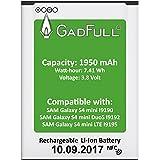 GadFull® Premium Akku für Samsung Galaxy S4 mini   2017 Baujahr   wie B500BE   Galaxy S4 mini i9190   Galaxy S4 mini Dual SIM i9192   Galaxy S4 mini LTE i9195   Batterie Accu Battery Galaxy