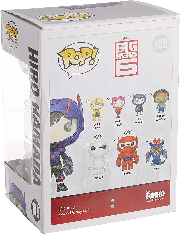 Funko 4661 Disney 4661 baymax Big Hero 6 Figurine, Multi ...