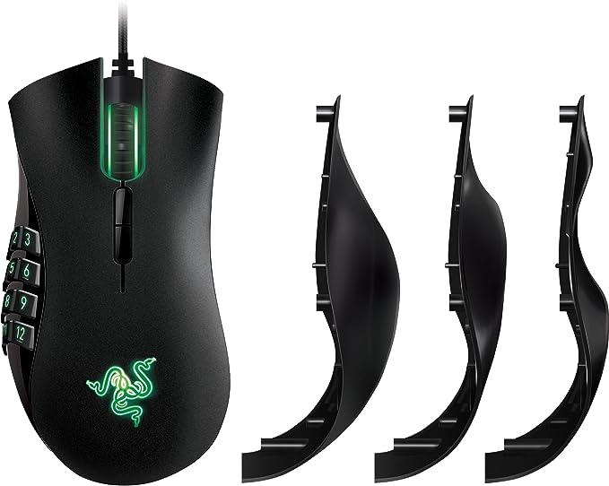 Razer Naga - Ratón láser para Juegos, Mana Derecha, Cable USB ...