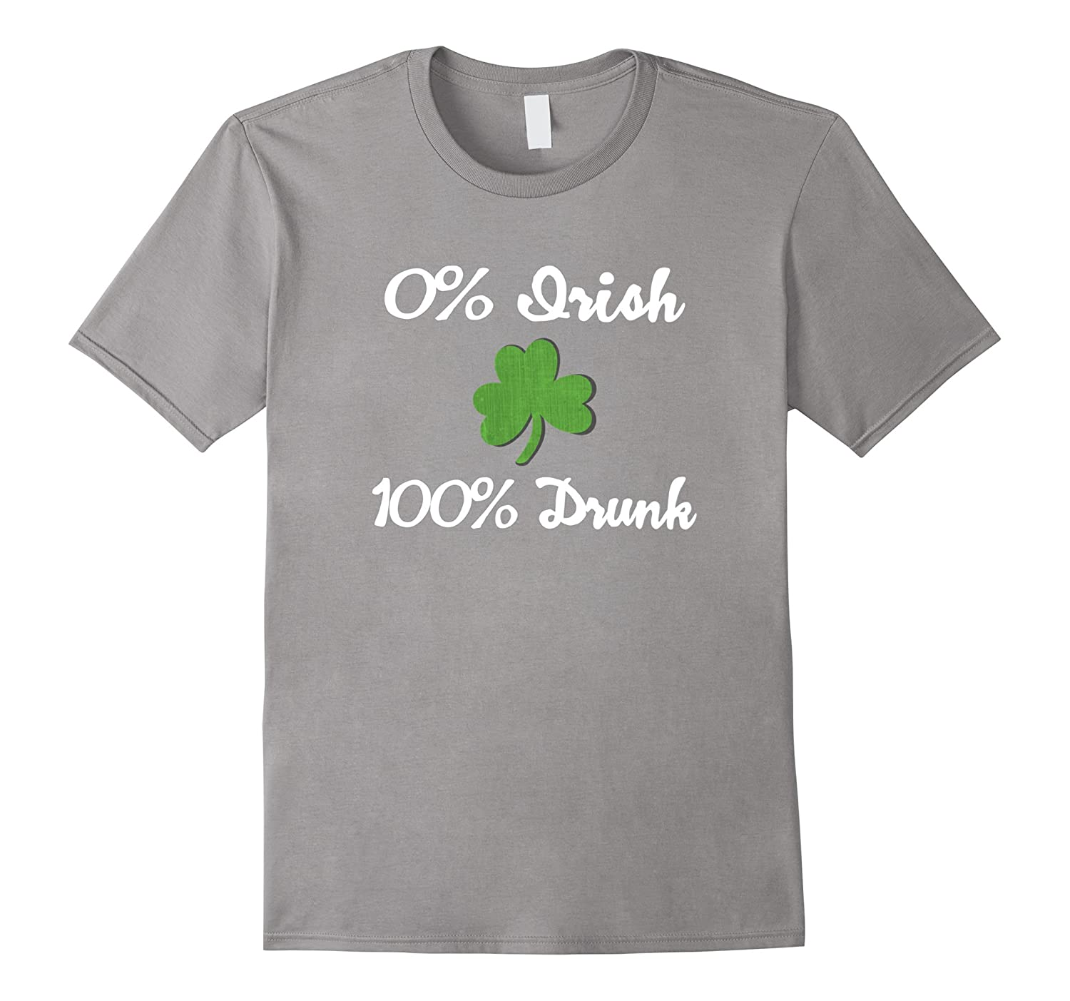 0 Irish 100 Drunk Funny T Shirt-TD