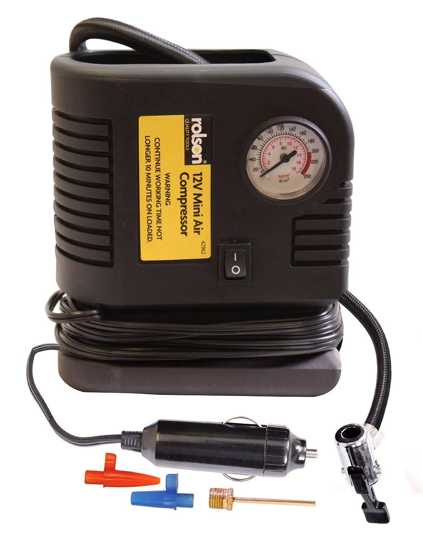 rolson 42962 200psi mini air compressor amazon co uk diy tools