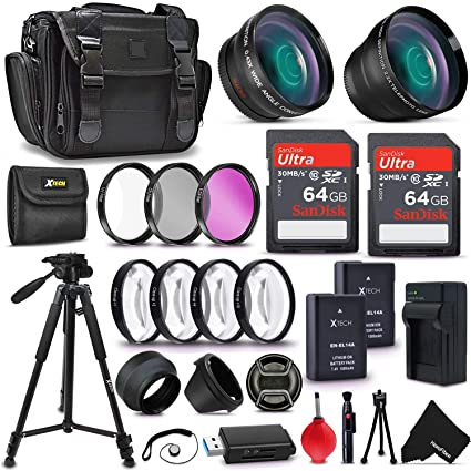 All in One Ultimate Accessory Kit for Nikon D5000 Digital SLR Camera