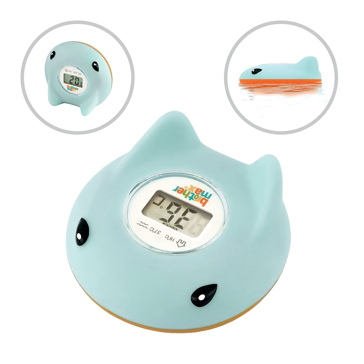 Brother Max Ray Bath and Room Thermometer: Amazon.co.uk: Baby