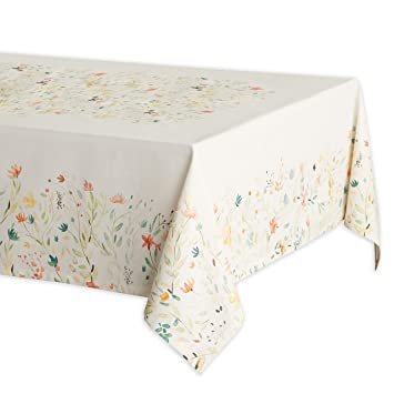 Cool Maison D Hermine Colmar 100 Cotton Tablecloth 60 Inch By 60 Inch Home Interior And Landscaping Ponolsignezvosmurscom