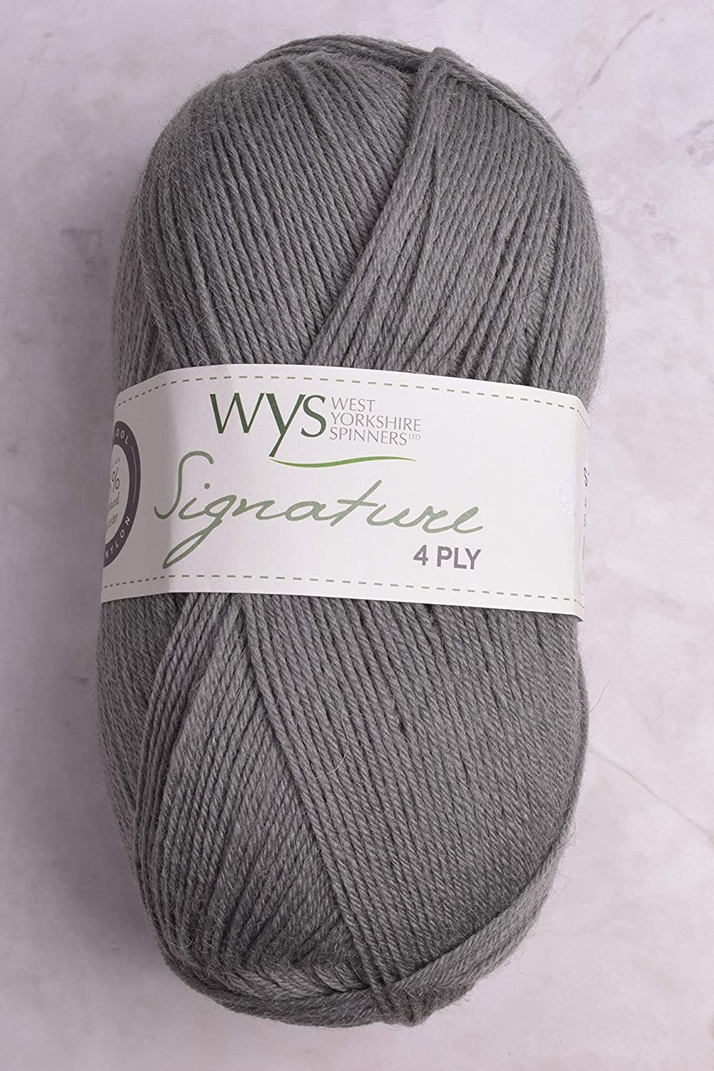 600 Poppy Seed West Yorkshire Spinners Signature 4 Ply Yarn Wool 100g