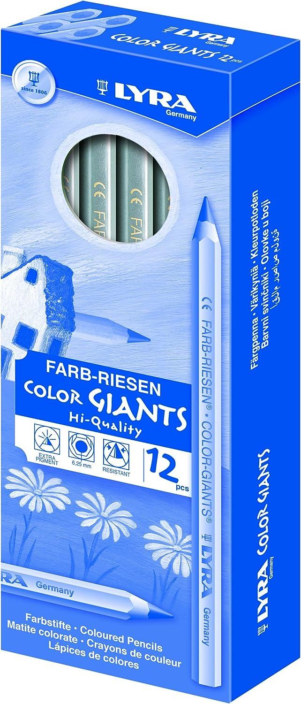 Lyra FARB-RIESEN/ /12/matite colorate con astuccio di cartone gold