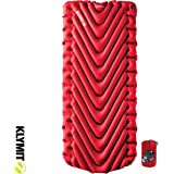 Insulated Static V Luxe Sleeping Pad - Red 2020