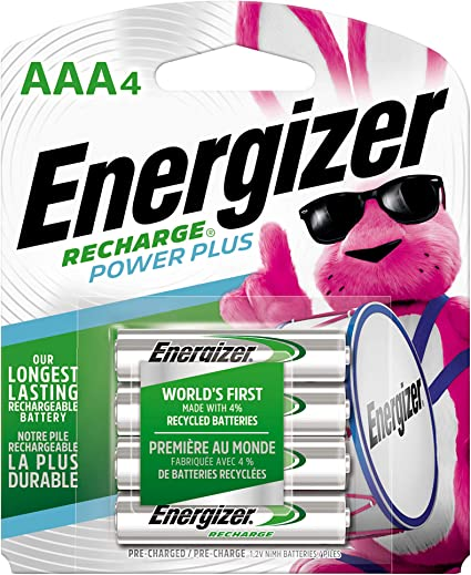 ENERGIZER Power Plus HR03 700mAh 4 pieces 1.2V AAA Energizer Rechargeable battery