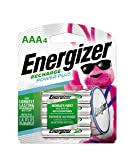 Energizer Rechargeable AAA Batteries, NiMH, 800