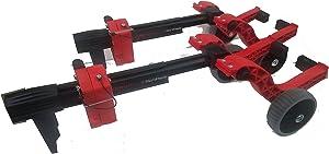 Caliber 13576 Sled Wheels - Universal Ski Wheel Transport Kit