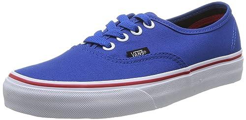 scarpe sportive basse Vans U Authentic Sneakers Unisex Blu Princess Blue/Mars